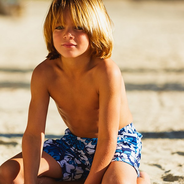 Kid at the Beach